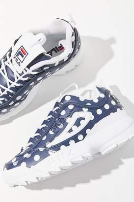 Fila + Pierre Cardin UO Exclusive Disruptor 2 Polka Dot Sneaker