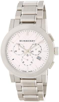 Burberry Men's The City Swiss Quartz Bracelet Watch, 42mm
