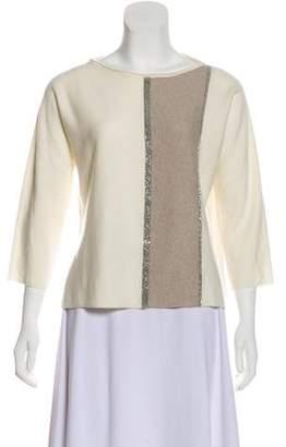 Fabiana Filippi Wool-Blend Sweater