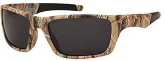 Coleman Warrior Square Polarized Rectangular Sunglasses