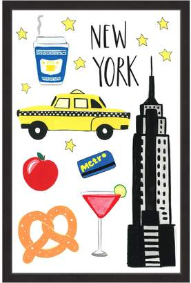 Icons Marmont Hill NYC Framed Print)