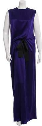 Reem Acra Sleeveless Evening Dress