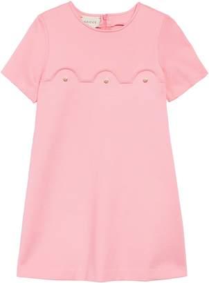 Gucci Scallop Detail Dress