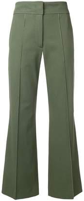 Joseph stretch flare trousers