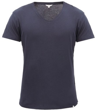 Orlebar Brown Ob V Cotton Jersey T Shirt - Mens - Navy