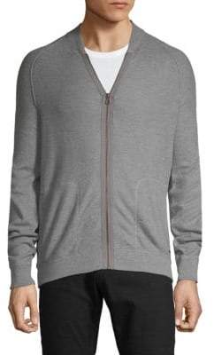 HUGO BOSS Full-Zip Sweater