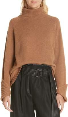 Lee MATHEWS Cashmere Turtleneck Sweater