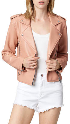 Blank NYC Dusty Coral Cropped Jacket