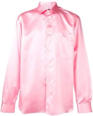 Comme des Garcons buttoned shirt