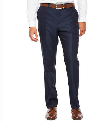 Jf J.Ferrar Diamond Slim Fit Stretch Suit Pants