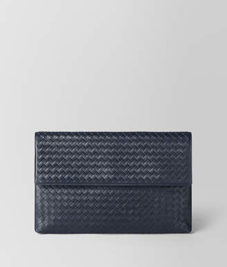 Bottega Veneta DOCUMENT CASE IN LIGHT TOURMALINE INTRECCIATO VN