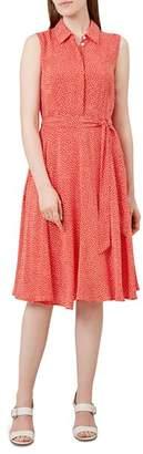 Hobbs London Belinda Dot Print Shirt Dress