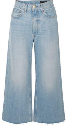 Rag & Bone Haru High-rise Wide-leg Jeans - Light denim
