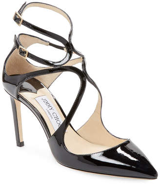 Jimmy Choo Patent Leather Ankle-Strap Pump