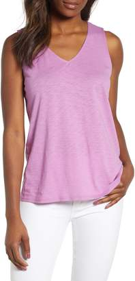 Gibson x Hi Sugarplum! Malibu Embroidered Racerback Tank Top