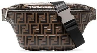 Fendi Logo Embossed Cross-Body Bag