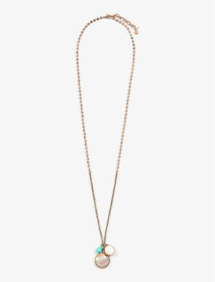 Lucky Brand LAYER DROP NECKLACE