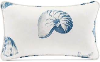 "Harbor House Beach House 12"" x 20"" Printed Oblong Decorative Pillow"