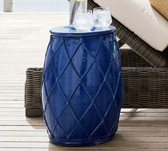 Pottery Barn Net Ceramic Accent Table