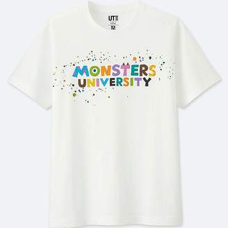 Uniqlo Color Of Pixar Short Sleeve Graphic T-Shirt (monsters, Inc.)