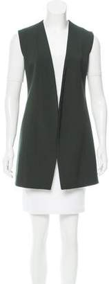 Narciso Rodriguez Structured Open Front Vest
