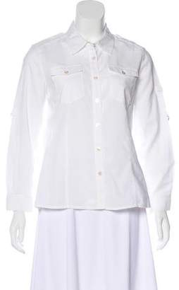 Marc by Marc Jacobs Long Sleeve Button-Up Top