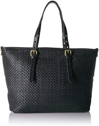 Cole Haan Loralie Weave Top Zip Tote