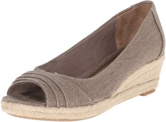 LifeStride Women's Occupy Peep-Toe Wedge