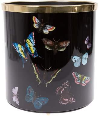 Fornasetti Butterfly ペーパー バスケット