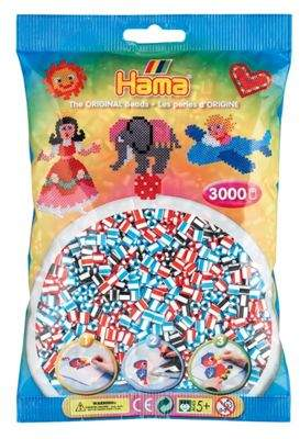Hama beads Hama Striped Beads - 3000 Beads