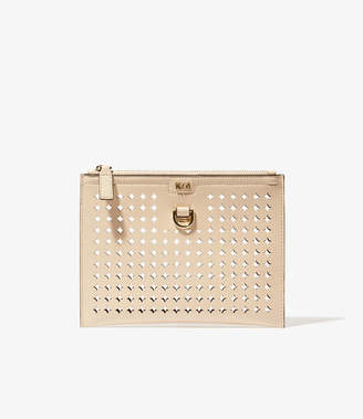 Karen Millen Circle Perforated Pochette
