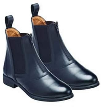 Hartford Harry Hall Womens/Ladies Zip Front Leather Jodhpur Boots (8 US)