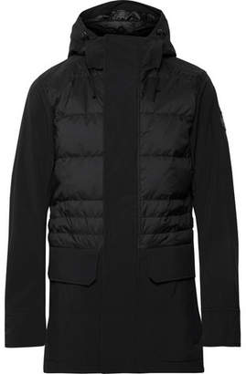 Canada Goose Breton Tri-Durance Hooded Down Coat - Men - Black