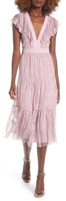 Women's Wayf Hadley Lace Midi Dress $95 thestylecure.com