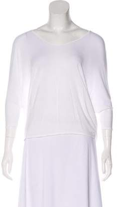 Vince Scoop Neck Raglan Sleeve Top