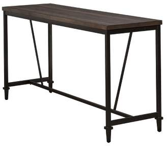 Hillsdale Furniture Trevino Counter Height Table Brown/Copper Metal