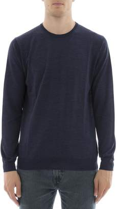 Lanvin Blue Wool Sweatshirt