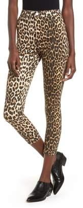 Topshop Joni Leopard Jeans