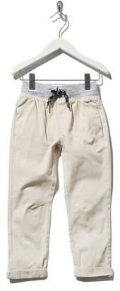 M&Co Rib stretch waist chinos