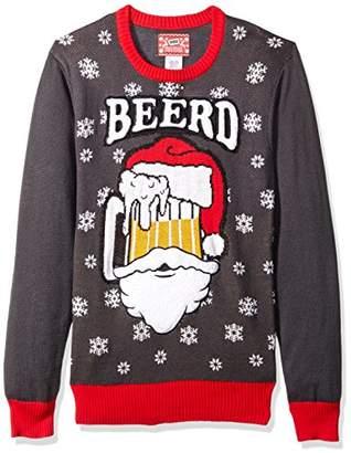 Hybrid Men's Beerd Ugly Christmas Sweater