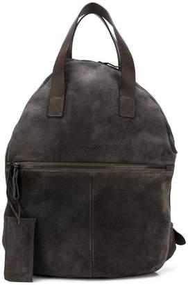 Marsèll leather trim backpack