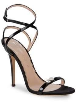 Giuseppe Zanotti Crisscross Ankle-Strap Sandals