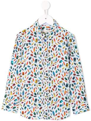 Paul Smith insect print shirt