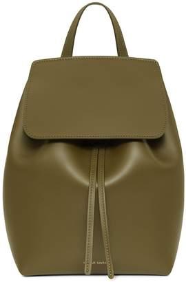 Mansur Gavriel Calf Mini Backpack - Olive