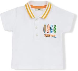 Fendi Surfing Time polo shirt