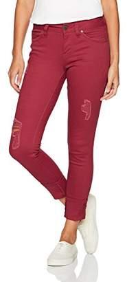 YMI Jeanswear Women's Wannabettabutt Mega Cuff Midrise Skinny