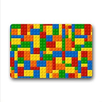 Lego QYOU Custom Funny locks Entrance Doormat Floor Mats