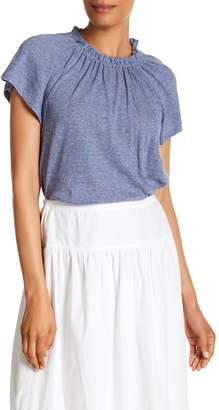 Rebecca Taylor Short Sleeve Knit Tee
