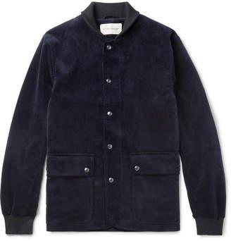 Oliver Spencer Berwick Cotton-Corduroy Bomber Jacket