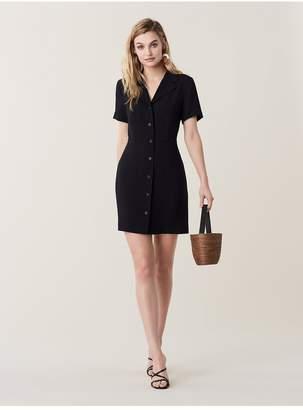 Diane von Furstenberg Rowan Collared Mini Dress